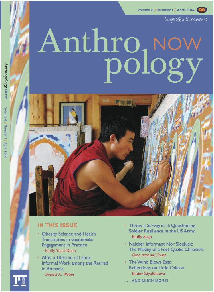 Anthropology Now vol6 no1 cover