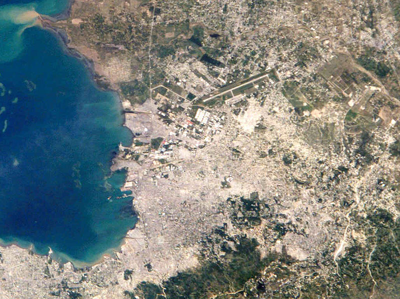 Haiti, Port-au-Prince satellite map
