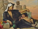 Elisabeth_Jerichau_Baumann_-_An_Egyptian_Fellah_Woman_with_her_Baby_-_Google_Art_Project