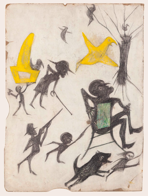 Bill Traylor - Untitled