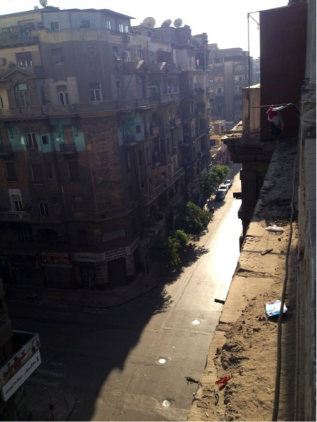'Ghost City' - Central Cairo, August 16, 2013. Photo Copyright: Maria Frederika Malmström.