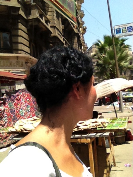 'Hunting' bread, Downtown Cairo, August 17, 2013. Photo Copyright: Maria Frederika Malmström.