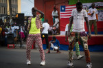 Dancers in Monrovia, Liberia. Photo by Ingrid Gercama