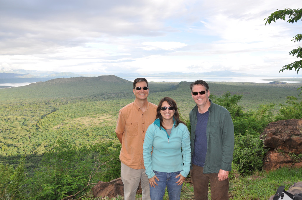 From left: USFSP Drs. John Arthur, Kathryn Arthur and Dr. Matthew Curtis, Ventura College. Photo courtesy of USFSP.